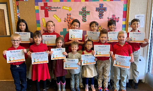 Students of the Month of December